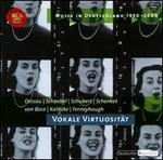 Musik in Deutschland 1950-2000, Vol. 32: Vokale Virtuosit?t