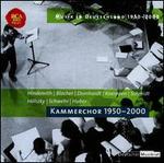 Musik in Deutschland 1950-2000, Vol. 37: Kammerchor, 1950-2000