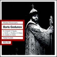 Mussorgsky: Boris Godunov - Boris Christoff (vocals); David Allan (vocals); David Kelly (vocals); David Tree (vocals); Duncan Robertson (vocals);...