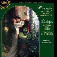 Mussorgsky: Pictures at an Exhibition; Prokofiev: Romeo & Juliet; Toccata - Nikolai Demidenko (piano)