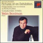 Mussorgsky: Pictures at an Exhibition; Stravinsky: Pétrouchka (Trois mouvements); Tchaikovsky: Dumka