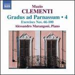 Muzio Clementi: Gradus ad Parnassum, Vol. 4, Excercises Nos. 66-100