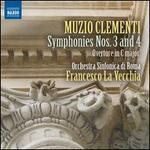 Muzio Clementi: Symphonies Nos. 3 and 4