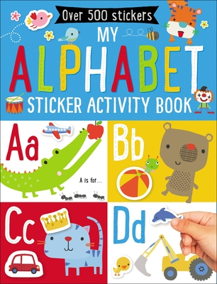 My Alphabet Sticker Activity Book - Make Believe Ideas Ltd