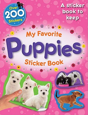 My Favorite Puppies Sticker Book - Calver, Paul (Designer)