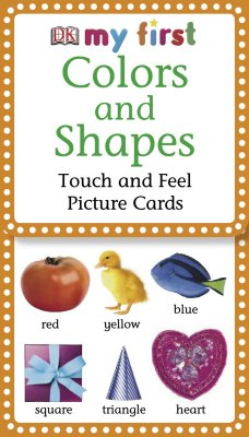 My First Touch & Feel Picture Cards: Colors & Shapes - Dk, Publishing