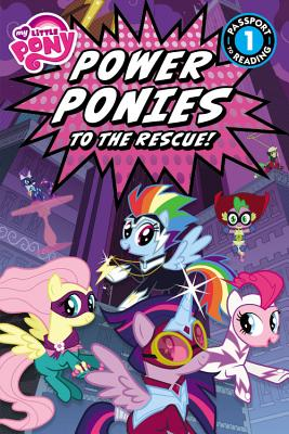 My Little Pony: Power Ponies to the Rescue! - Belle, Magnolia