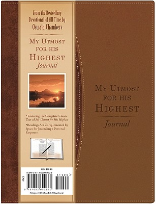 My Utmost for His Highest Journal - Chambers, Oswald