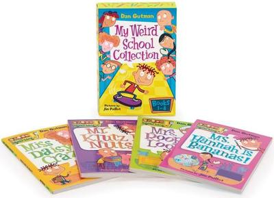 My Weird School Collection: Books 1 to 4 - Gutman, Dan