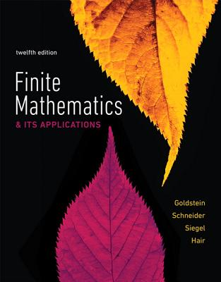 Mymathlab Plus Pearson Etext -- Standalone Access Card -- For Finite Mathematics & Its Applications - Goldstein, Larry J, and Schneider, David I, and Siegel, Martha J
