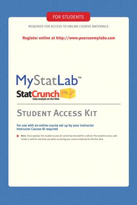 Mystatlab -- Standalone Access Card - Pearson, Charles, and Pearson, Rebecca L, and Pearson Education, Pearson