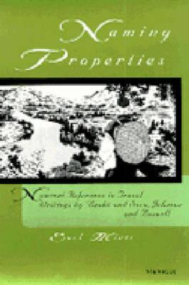Naming Properties: Nominal Reference in Travel Writings by Basho and Sora, Johnson and Boswell - Miner, Earl, Prof.