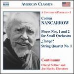 Nancarrow: Pieces Nos. 1 & 2; ¿Tango?; String Quartet No. 1