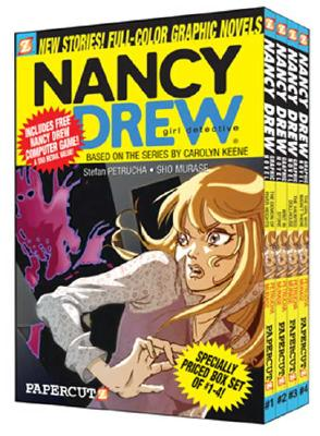 Nancy Drew Boxed Set: Volumes 1-4 - Petrucha, Stefan