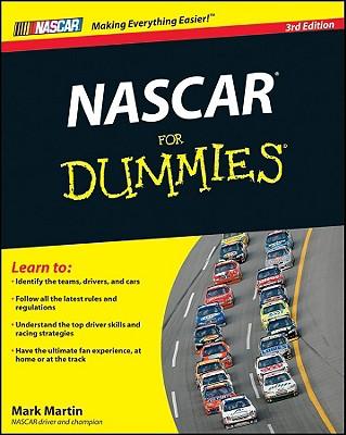 NASCAR for Dummies - Martin, Mark