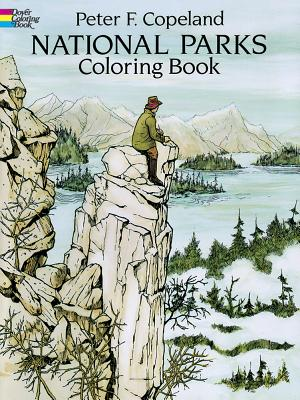 National Parks Coloring Book - Copeland, Peter F