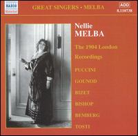 Nellie Melba: Complete Gramophone Company Recordings, Vol. 2 - Albert Fransella (flute); Ernest Pike (vocals); Gwladys Roberts (vocals); Hermann Bemberg (piano); Landon Ronald (piano);...