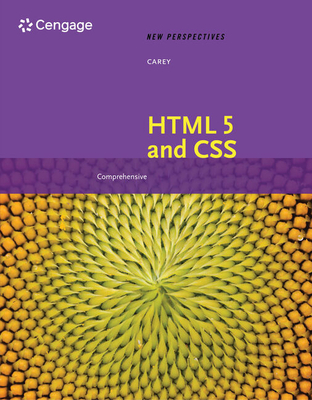 New Perspectives on HTML 5 and CSS: Comprehensive: Comprehensive - Carey, Patrick