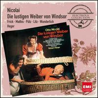 Nicolai: Die Lustigen Weiber von Windsor - Carl Hoppe (vocals); Edith Mathis (vocals); Ernst Gutstein (vocals); Friedrich Lenz (vocals); Fritz Wunderlich (vocals);...