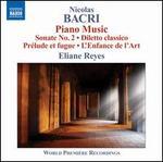 Nicolas Bacri: Piano Music
