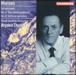 Nielsen: Symphonies No. 4 'The Inextinguishable' & No. 6 'Sinfonia Semplice'