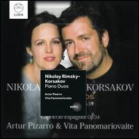 Niikolay Rimsky-Korsakov: Piano Duos - Artur Pizarro (piano); Vita Panomariovaite (piano)