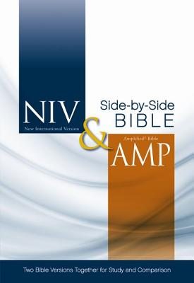 NIV, Amplified, Parallel Bible, Hardcover: Two Bible Versions Together for Study and Comparison - Zondervan Publishing