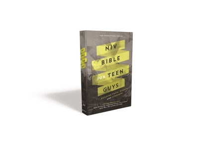 NIV Bible for Teen Guys, Hardcover: Building Faith, Wisdom and Strength - Zondervan