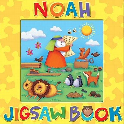 Noah Jigsaw Book - PItt, Sarah