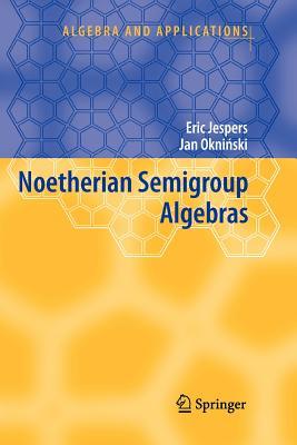 Noetherian Semigroup Algebras - Jespers, Eric, and Okninski, Jan