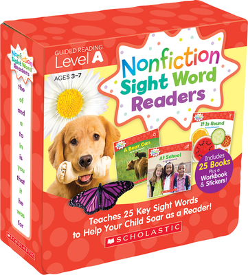 Nonfiction Sight Word Readers: Guided Reading Level a (Parent Pack): Teaches 25 Key Sight Words to Help Your Child Soar as a Reader! - Charlesworth, Liza