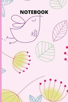 """Notebook: Bird Notebook For Girls Size (6""""X 9"""",120 Pages) - Nbc"""