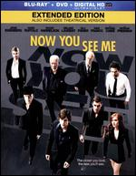 Now You See Me [2 Discs] [Blu-ray/DVD] [Includes Digital Copy] [UltraViolet] - Louis Leterrier