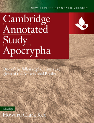 NRSV Study Apocrypha -