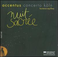 Nuit Sacrée - Accentus; Aurélie Saraf (harp); Concerto Köln; Daniel Maurer (organ); Johannes Weisser (bass);...