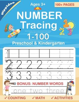 Number Tracing book for Preschoolers: Preschool Numbers Tracing Math Practice Workbook: Math Activity Book for Pre K, Kindergarten and Kids Ages 3-5 - Lalgudi, Sujatha