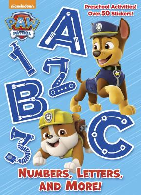Numbers, Letters, and More! (Paw Patrol) -