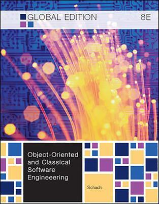 Object-Oriented and Classical Software Engineering - Schach, Stephen R.