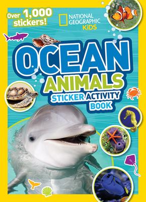 Ocean Animals Sticker Activity Book - National Geographic Kids
