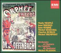 Offenbach: Orphée aux Enfers - Andre Batisse (spoken word); André Mallabrera (tenor); Charles Burles (tenor); Danielle Castaing (soprano);...