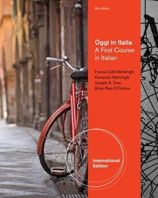 Oggi in Italia: A First Course in Italian - O'Connor, Brian Rea, and Merlonghi, Franca, and Merlonghi, Ferdinando