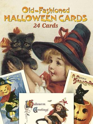 Old-Fashioned Halloween Cards: 24 Cards - Oldham, Gabriella (Editor)
