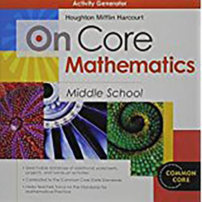 On Core Mathematics: Activity Generator CD-ROM Grades 6-8 - Holt McDougal (Prepared for publication by)