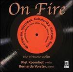 On Fire: Wieniawski, Glazunov, Kabelevsky, Karayev, Rota