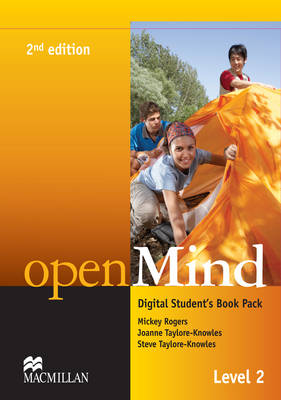 openMind 2nd Edition AE Level 2 Digital Student's Book Pack - Rogers, Mickey