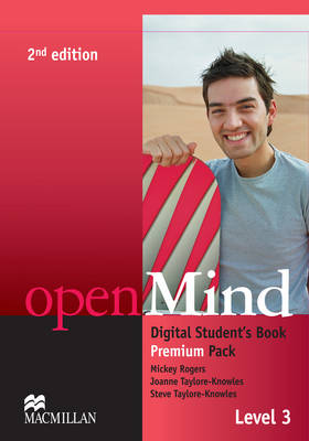 openMind 2nd Edition AE Level 3 Digital Student's Book Pack - Rogers, Mickey