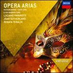 Opera Arias - Carlo Bergonzi (tenor); Franco Corelli (tenor); Huguette Tourangeau (mezzo-soprano); Jane Berbié (mezzo-soprano); Joan Sutherland (soprano); José van Dam (baritone); Kiri Te Kanawa (soprano); Lucia Popp (soprano); Luciano Pavarotti (tenor)