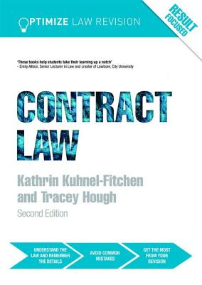Optimize Contract Law - Kuhnel-Fitchen, Kathrin, and Hough, Tracey