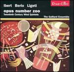 Opus Number Zoo: Twentieth Century Wind Quintets