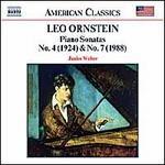 Orenstein: Piano Sonatas